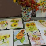 fall sunflowers 2014 Goesling Gallery copy